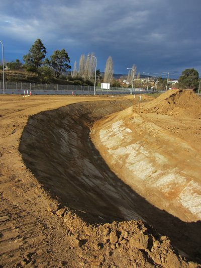 Russell's work for Bega Bypass, 2012